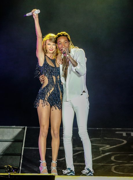 Taylor Swift and Wiz Khalifa