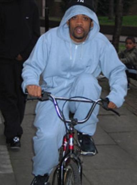 Wiley on bike
