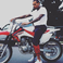 Image 9: Chris Brown On Bike