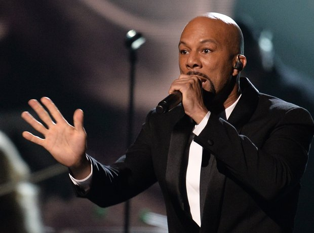 Common Performing On Stage