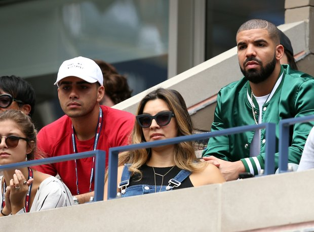 Drake Serena Williams Tennis Match