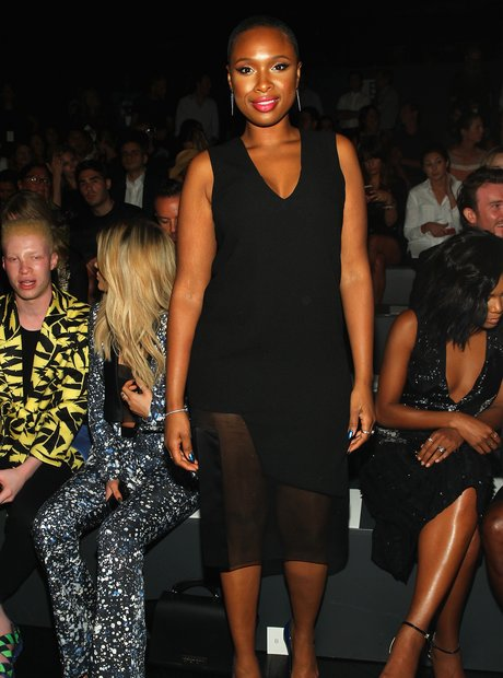 Jennifer Hudson New York Fashion Week