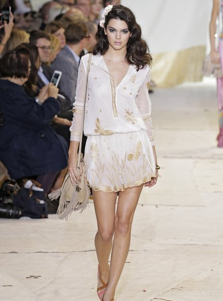 Kendall Jenner Spring 2016 New York Fashion Week