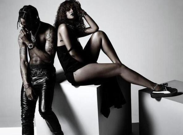 Rihanna Travis Scott Puma Advert