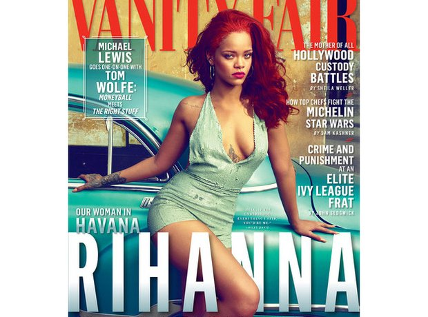 Rihanna Vanity Fair Magazine 2015