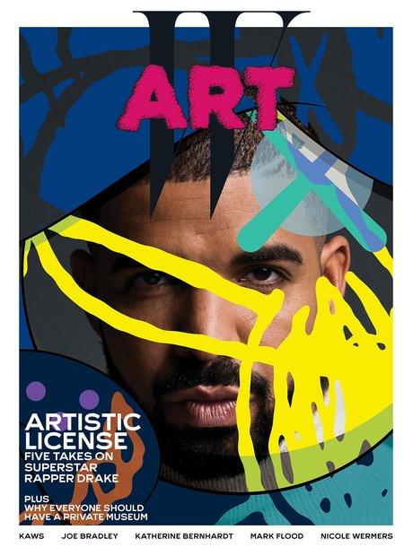 Drake W Art Cover Magazine
