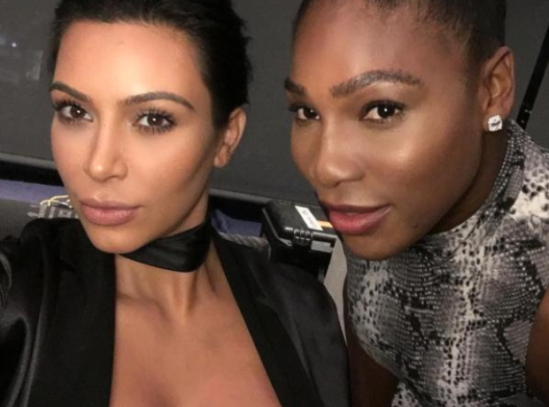 Kim Kardashian Serena Williams