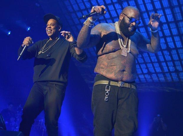 Rick Ross and Jay Z TIDAL X: 1020