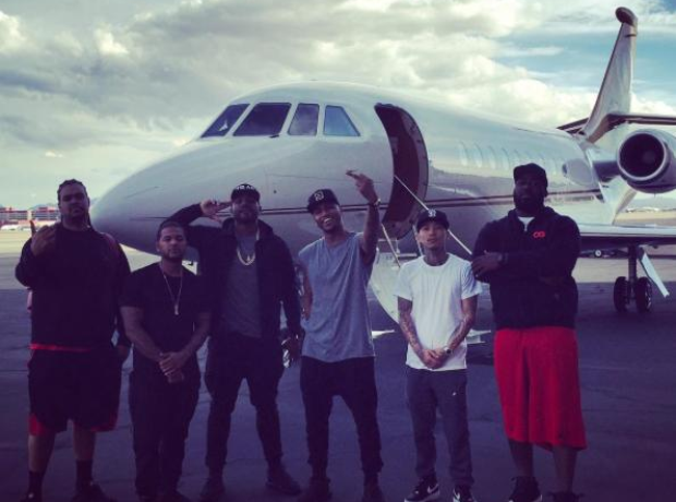 Trey Songz Private Jet