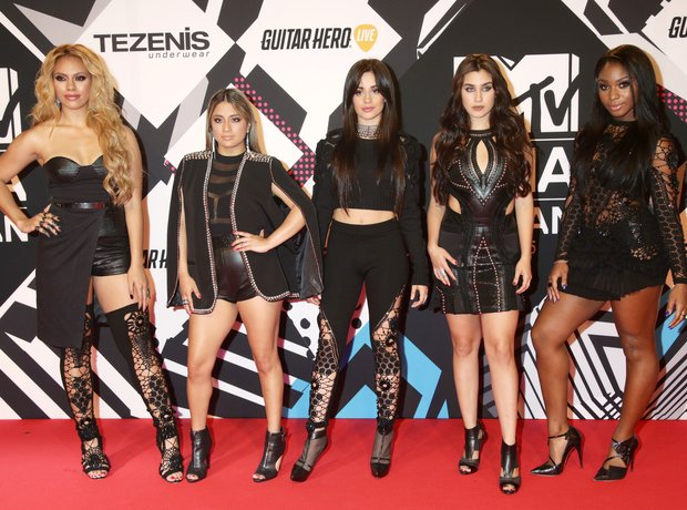 Fifth Harmony MTV EMA's 2015 Red Carpet Performanc
