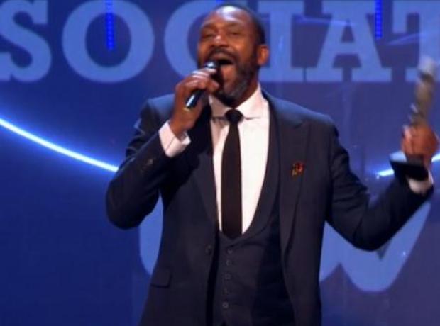 Lenny Henry MOBO Awards 2015