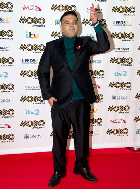 Naughty Boy MOBO Awards 2015