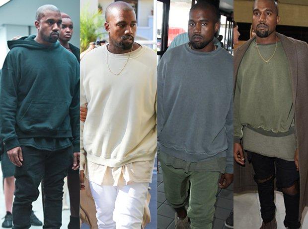 Kanye West Autumn Winter Fashion 2015