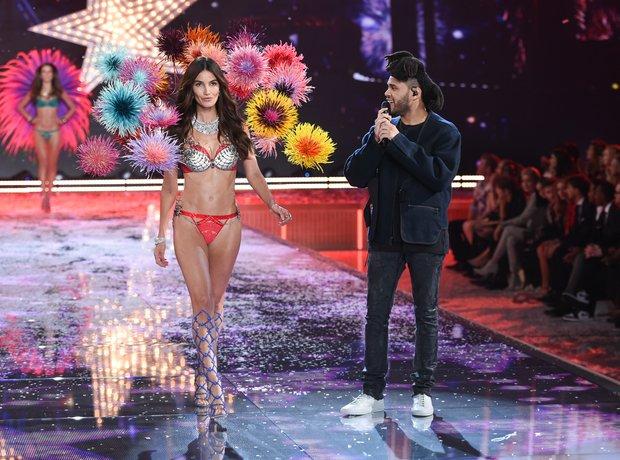 The Weeknd Victoria Secret Fashion Show