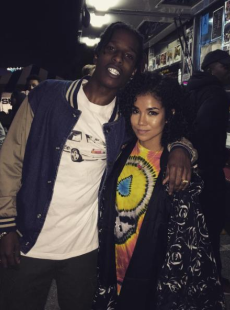 ASAP Rock Jhene Aiko