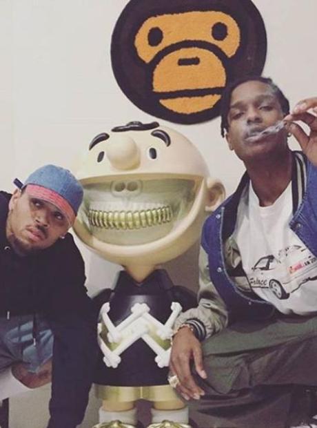 Chris Brown ASAP Rocky