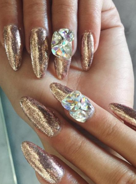 Pia Mia Diamond Nails