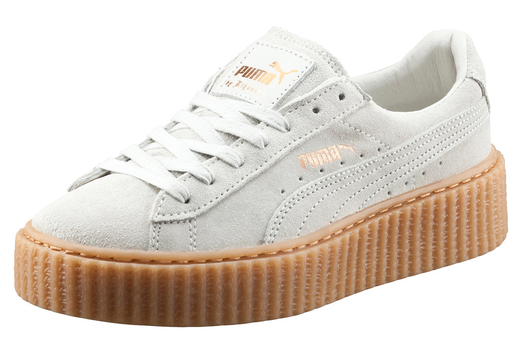Rihanna Announces Puma Creepers Re-Release, Gets Close To