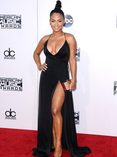 Christina Milian American Music Awards 2015