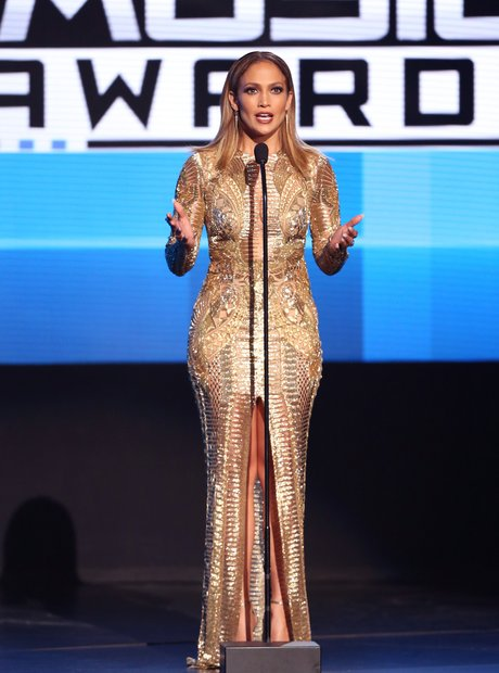 Jennifer Lopez American Music Awards 2015