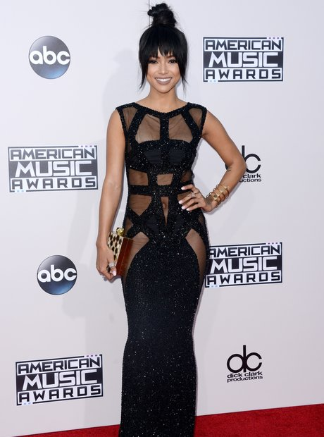 Karrueche Tran American Music Awards 2015 Red Carp