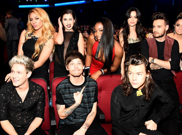 One Direction and Fifth Harmony 2015