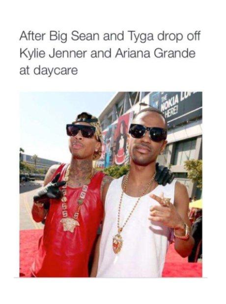 Tyga Kylie Jenner