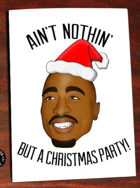 Hip Hop Christmas Cards.