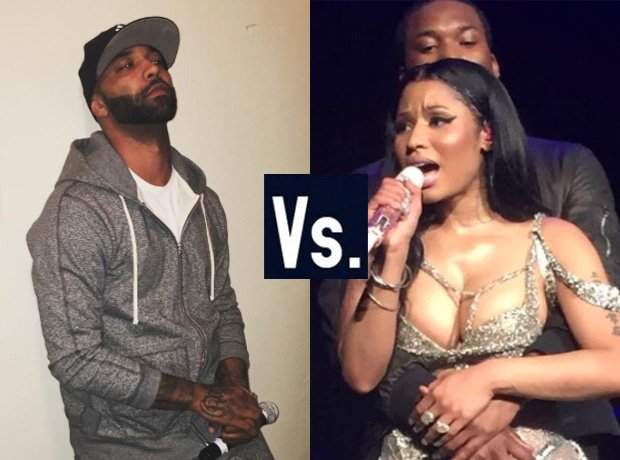 Joe Budden Meek Mill Nicki Minaj