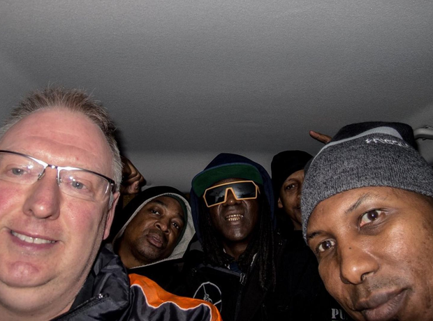 Kevin Wells and Public Enemy