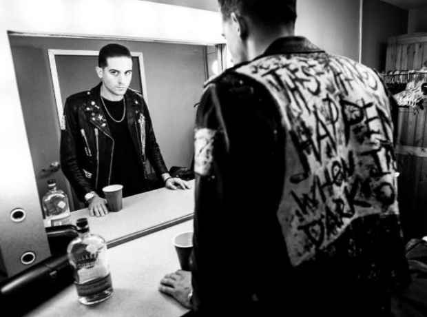 G Eazy Black And White Photo