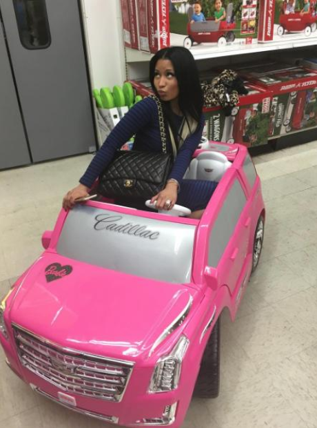 Nicki Minaj Car