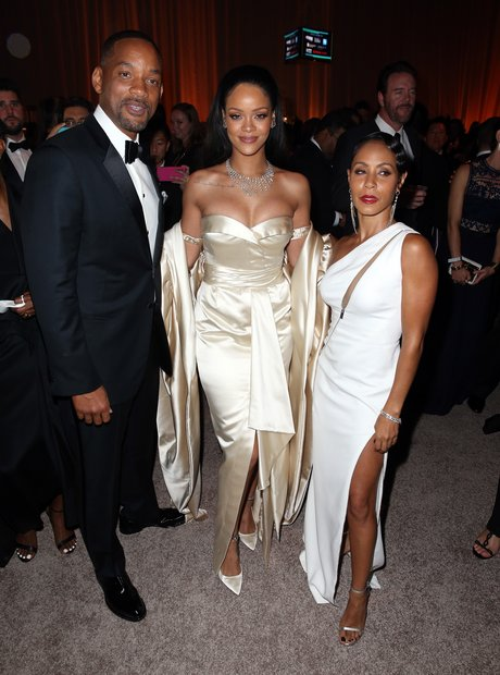 Rihanna Will Smith Jada Pinkett Smith Diamond Ball