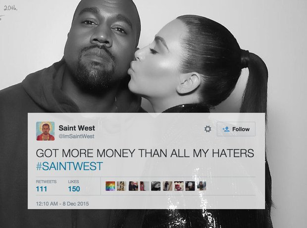 Saint West Twitter Reactions