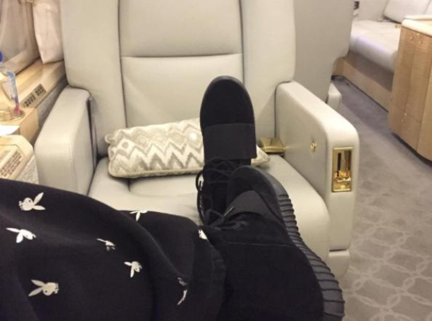 The Weeknd Black Yeezy