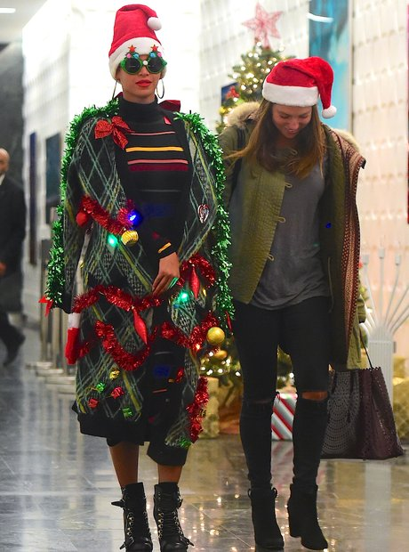 Beyonce is ready for christmas