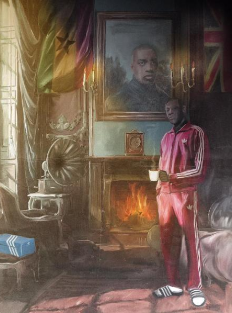 Stormzy Painting