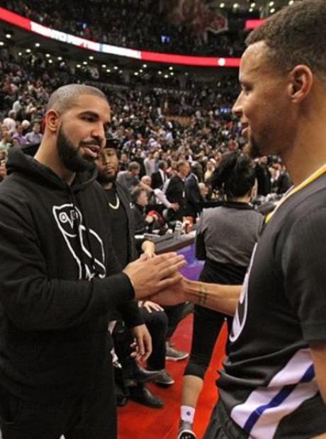 Drake Steph Curry