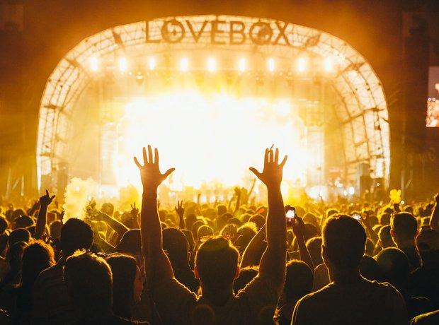 Lovebox 2015 Crowd Shot