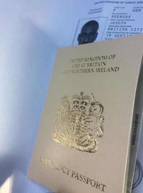 Skepta Passport