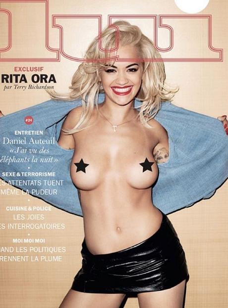 Rita Ora luimagazine