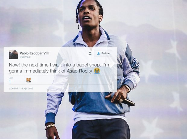 Asap Rocky Black Ink Gallery: He Definitely Made An Impression.