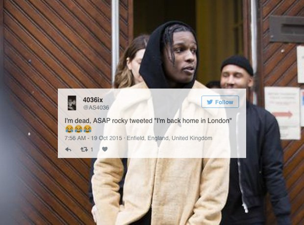 Asap Rocky Black Ink Gallery: Does That Make Him Certified Yet?