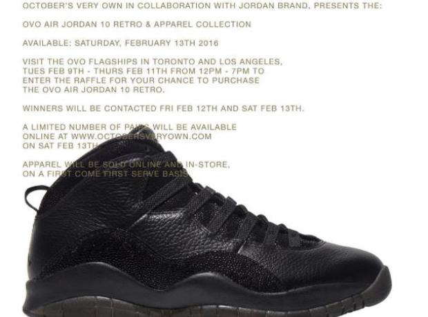 OVO Jordans