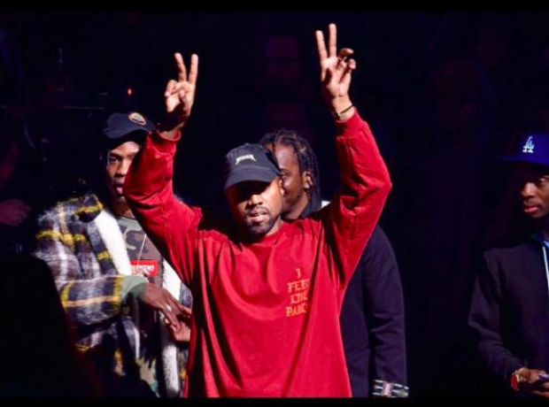 Kanye west premiered his new album 39 the life of pablo 39 at - Kanye west tickets madison square garden ...
