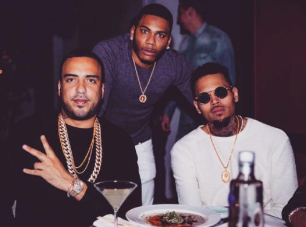 Chris Brown Nelly French Montana
