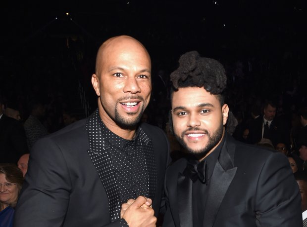 Common and The Weeknd Grammy Awards 2016