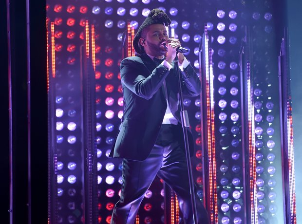 The Weeknd Grammy Awards 2016
