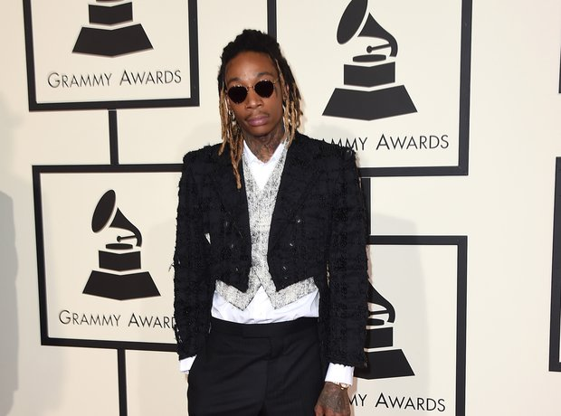 Wiz Khalifa at the Grammy Awards 2016