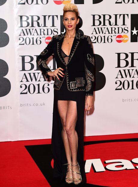 Alesha Dixon Red Carpet Arrivals Brit Awards 2016